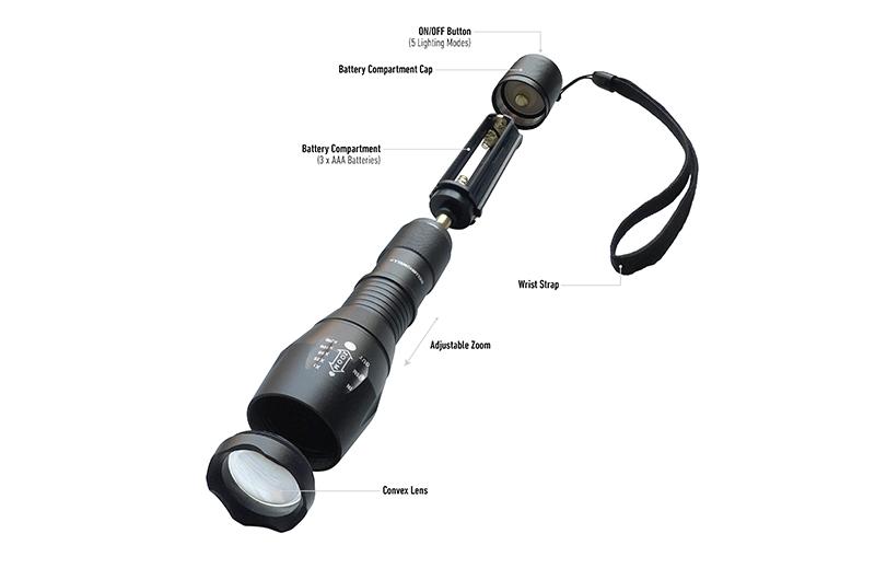 usa flashlight review